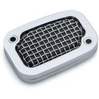 Chrome Mesh Clutch Master Cylinder Cover - 6562