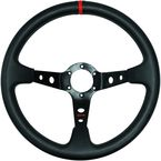 Black Sport Vinyl Steering Wheel - 04-0101
