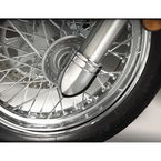 Chrome Bullet Fork Covers - 55-319