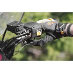 Black ATV Heated Grips w/Thumb Warmer - AM10801G