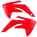 CR Red Radiator Shrouds - 2084570227