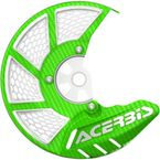 Green/White X-Brake 2.0 Vented Front Disc Cover - 2449490006