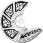 White/Black X-Brake 2.0 Vented Front Disc Cover - 2449490002