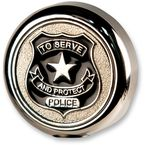 Police Flag Pole Topper - LTOP-POL
