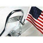 Indian Sissy Bar Flag Mount w/10 in. x 15 in. Flag - RFM-RDSB765IN15