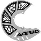 White/Black Mini X-Brake Disc Cover - 2630551035