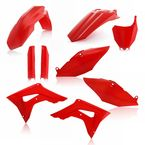 00 CR Red Replacement Full Plastic Kit - 2630700227