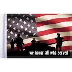 10 in. x 15 in. Honor Flag - FLG-HONOR15