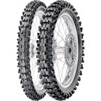 Rear Scorpion MXMS 110/85-19 Blackwall Tire - 2167300