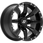 Black Front/Rear Sparx 14x7 Wheel - 570-1305