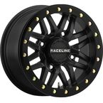 Black Rear Ryno Beadlock Raceline 15x10 Wheel - 570-1607
