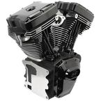 T124 High Compression Long Block Black Engine - 310-0900