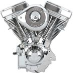 Natural/Chrome V111 Complete Assembled Engine - 106-5703