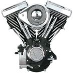 Wrinkle Black V80 Complete Assembled Engine - 310-0238