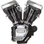 Black/Chrome T143 Long Black Engine - 310-0548A