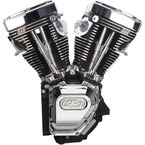 Black/Chrome T143 Long Black Engine - 310-0737A