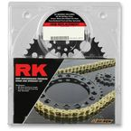 Natural Honda 520XSO Chain and Sprocket Kit - 1042-140E
