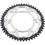 52 Tooth Silver Dual Rear Sprocket  - 1210-1473