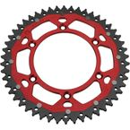 52 Tooth Red Dual Rear Sprocket  - 1210-1474