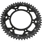 52 Tooth Black Dual Rear Sprocket  - 1210-1526