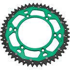 52 Tooth Green Dual Rear Sprocket - 1210-1499