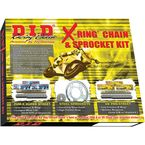 520VX2 X-Ring Chain and Sprocket Kit - DKK-017