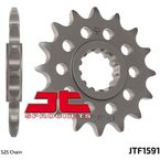 Front Chromoly Steel Alloy 525 15 Tooth Sprocket - JTF1591.15