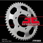 428 45 Tooth Rear C49 High Carbon Steel Sprocket - JTR1869.45