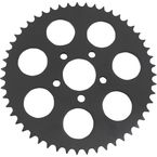 Black 530 Chain Conversion Rear 51T Flat Sprocket w/2.22