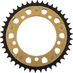 Gold Stealth Rear Sprocket - RST-1800-43-GLD