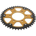 Gold Stealth Rear Sprocket - RST-478-43-GLD
