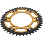 Gold Stealth Rear Sprocket - RST-486-42-GLD