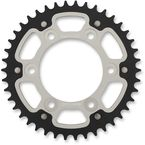 Silver Stealth Rear Sprocket - 42 Tooth - RST-735-42-SLV