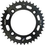 Black Aluminum Works Triplestar Rear 38T Sprocket - 5-001138BK