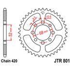 High Carbon 420 39 Tooth Steel Rear Sprocket - JTR801.39