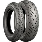 Rear Hoop B02 130/70L-12 Blackwall Tire - 154288