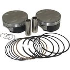 120 in. Big Bore Super Duty Forged Piston Kit - KB542LCA.020