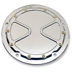 Chrome Bomber Series Derby Cover - BS-DB02-C
