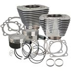 Silver XL 1200 to 1250 Conversion Big Bore Kit (Silver) - 910-0436