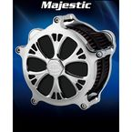 Airstrike Chrome Majestic Air Cleaner - AC-04C-102C