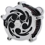Airstrike Chrome Savage Air Cleaner - AC-04C-85C