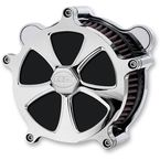 Chrome Nitro Airstrike Air Cleaner - AC-03B-92C