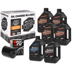 Complete MIneral Oil Change Kit in a Box w/Black Filter - 90-069016B
