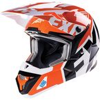 Orange X1 Race Snell Helmet - 15401