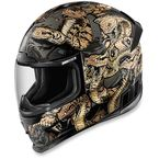 Gold Airframe Pro Cottonmouth Helmet - 0101-9328