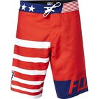 Red White and True Boardshorts - 16970-003-30