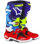 Red/Blue/Cyan/Yellow Limited Edition Venom Tech 10 Boots - 2010014-7375-10