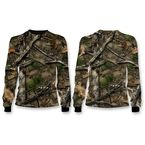 Camo Backwoods Skull Long Sleeve Shirt - SC50500L