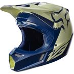 Navy/Yellow Foxborough SX V3 Libra Limited Edition Helmet - 18507-046-L