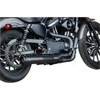 Black Superstreet 2:1 Exhaust System - 550-0951